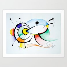 Eye - Ojo Art Print
