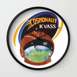 Cosmonaut Kvass Wall Clock