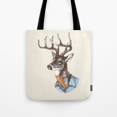 Lucienne the crying deer (with tattoos) Tote Bag