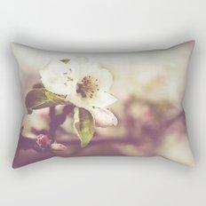 Lonely blossom Rectangular Pillow