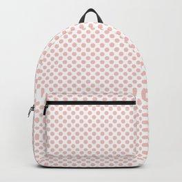 Seashell Pink Polka Dots Backpack