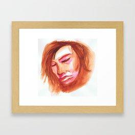 otoko Framed Art Print