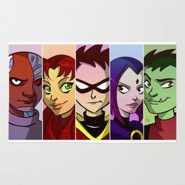 Teen Titans Rug