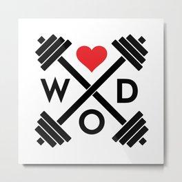 WOD Metal Print