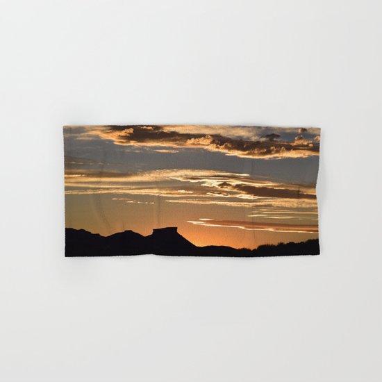 Golden Mesa Sunset Hand & Bath Towel