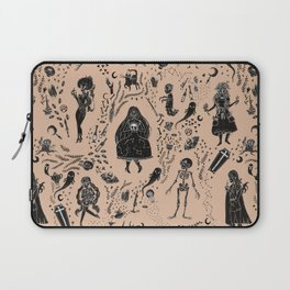 Creatures of the Night (orange) Laptop Sleeve