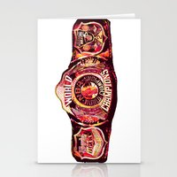 nba Stationery Cards featuring NBA CHAMPIONSHIP BELT by mergedvisible
