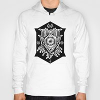 all seeing eye Hoodies featuring All Seeing Eye by girlxboy