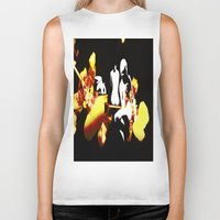 orchid Biker Tanks featuring Orchid by Angelica Gonzalez Donaire