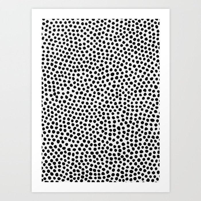 Dots Pattern Art Print