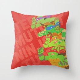 TMNT - Bros! Throw Pillow