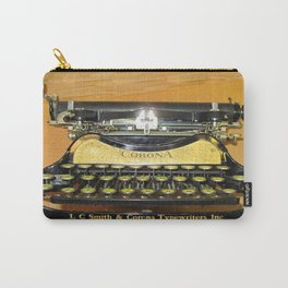 corona vintage typewriter Carry-All Pouch