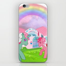 g1 my little pony iPhone Skin