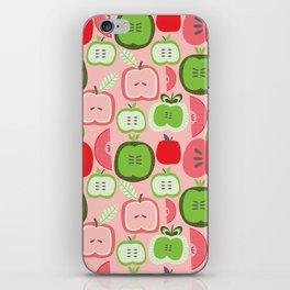 Retro Apples iPhone Skin