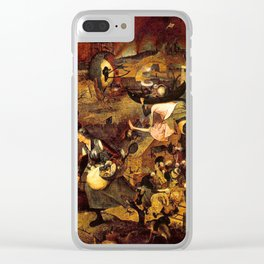 Mad Meg by Heironymus Bosch Clear iPhone Case