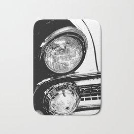 Vintage Car Taillights Bath Mat