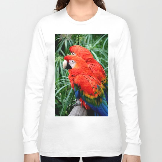 Scarlet Macaws Long Sleeve T-shirt