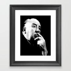 ALFRED HITCHCOCK: Legend Framed Art Print