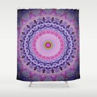 fairytale Shower Curtains featuring Fairytale Kaleidoscope by MIMeyer