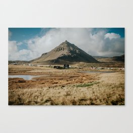 Mt. Stapafell, Snæfellsnes - Landscape Photography Canvas Print