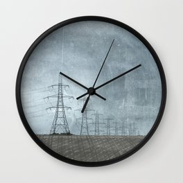March of the Pylons Wall Clock
