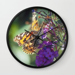 Sipping Wall Clock