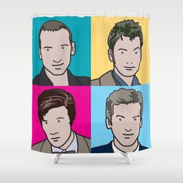 Doctors 9 to 12 Shower Curtain