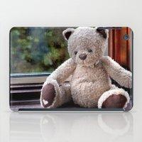 teddy bear iPad Cases featuring Teddy Bear  by Fran Walding