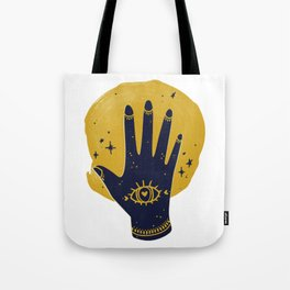 Hamsa Sun Tote Bag
