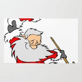 Dancing Santa Rug