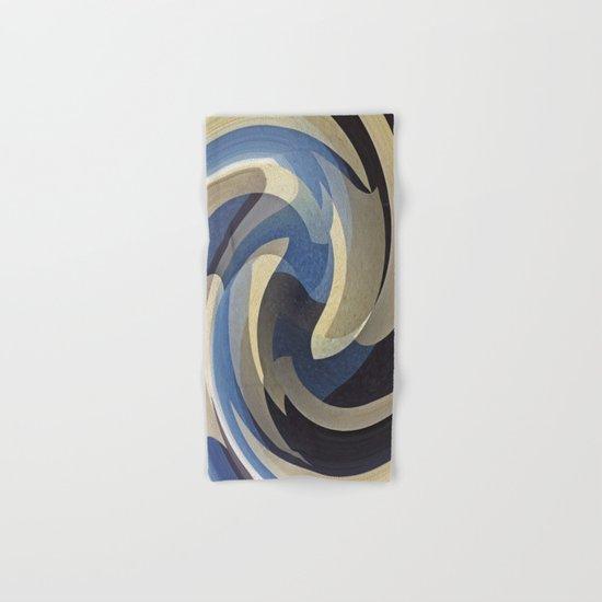 Bluetan Swirl Hand & Bath Towel