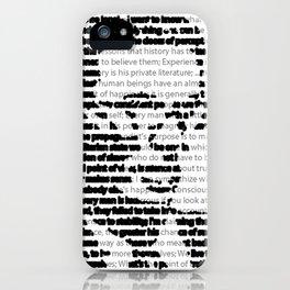 Aldous Huxley Quotes iPhone Case