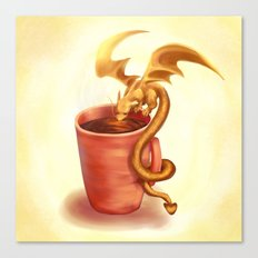 A drink for a dragon Canvas Print