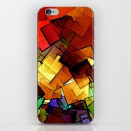 broken glass iPhone Skin