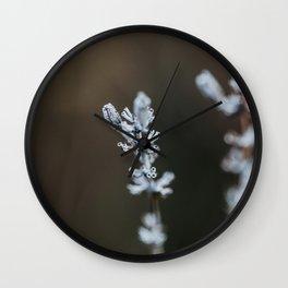 Dried Lavendel Wall Clock