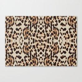 Vintage Cheetah Canvas Print