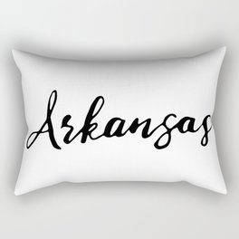 Arkansas (AR; Ark.) Rectangular Pillow