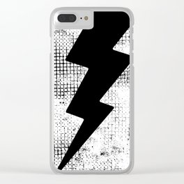 HIGH VOLTAGE Clear iPhone Case