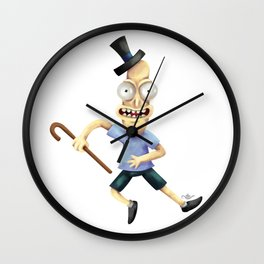 Mr Poopybutthole Wall Clock
