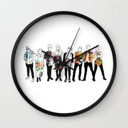 Music Improvised Art Series Wall Clock