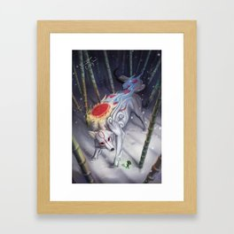Okami Framed Art Print