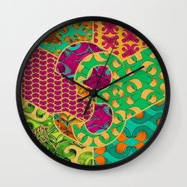 Tile 3 Wall Clock