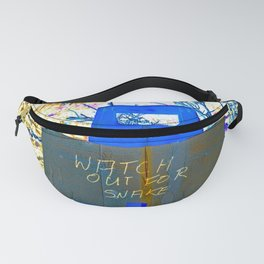 Watch Out For Snake Fanny Pack
