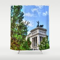 rome Shower Curtains featuring Rome. by haroulita