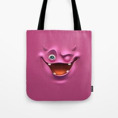Winking face Tote Bag