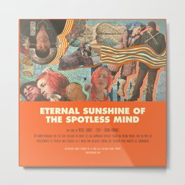 Eternal Sunshine Of the Spotless Mind - Michel Gondry Metal Print