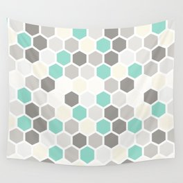 Geometric one Wall Tapestry