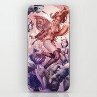 fairies iPhone & iPod Skins featuring Pepper Fairies by Artgerm™