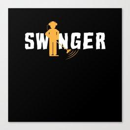 Swinger Metal Detector Treasurehunter Canvas Print
