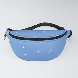 Doves of Milky Way Fanny Pack
